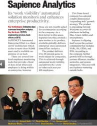 IDG Channel World recognizes Sapience as 50 Hot Companies